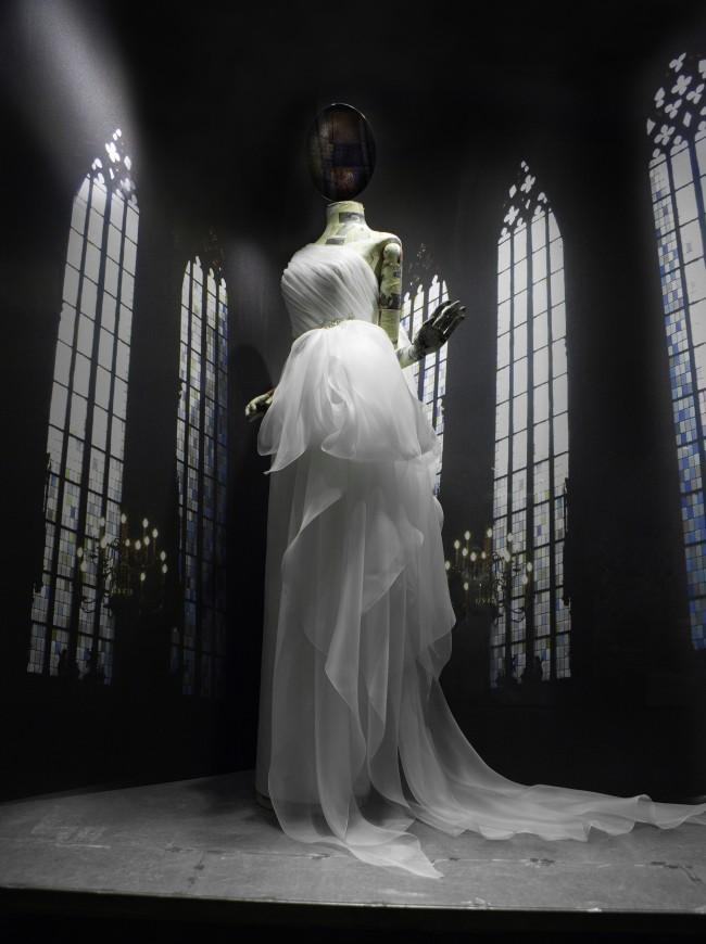 Vestido novia Escaparate Alzheimer