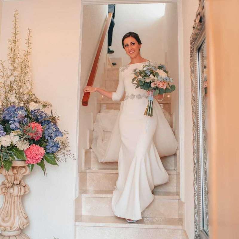 Tendencia 2021: Vestidos de novia minimalistas